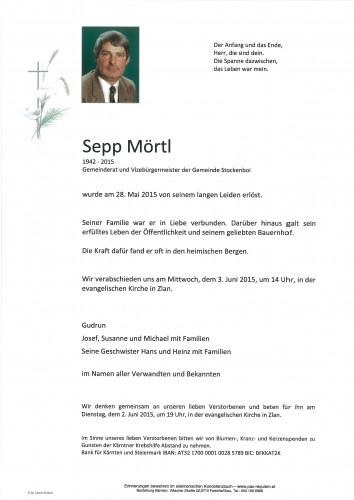 Sepp Mörtl