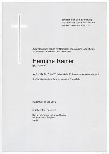 Hermine Rainer