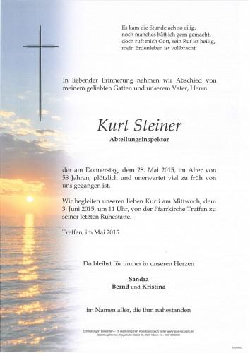 Kurt Steiner