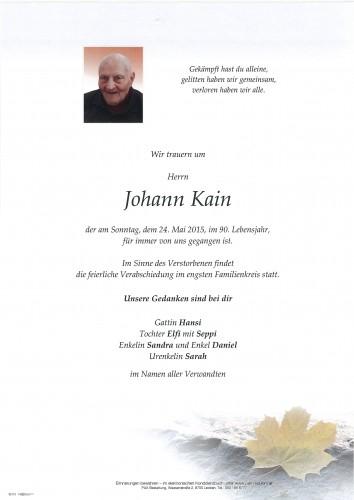 Johann Kain