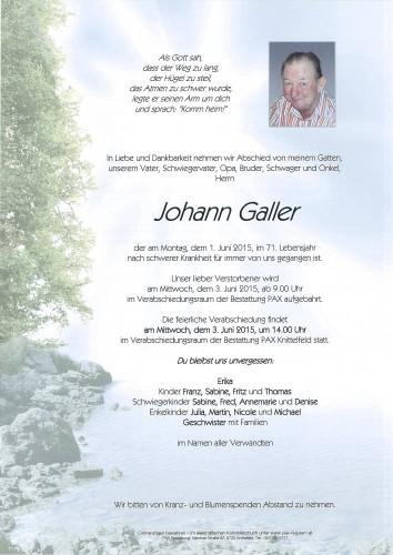 Johann Galler