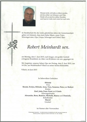 Robert sen. Meinhardt
