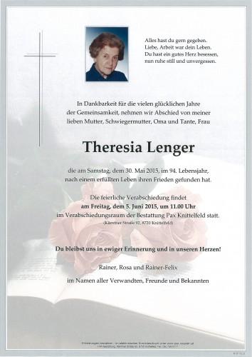 Theresia Lenger