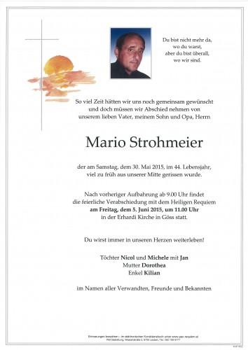 Mario Strohmeier