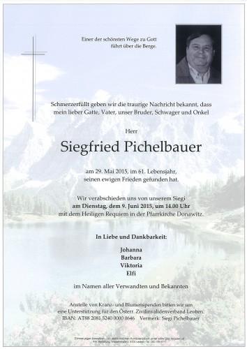 Siegfried Pichelbauer