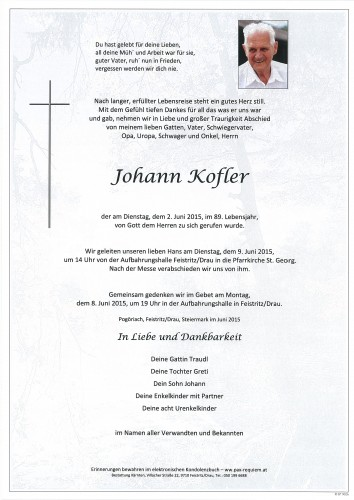 Johann Kofler
