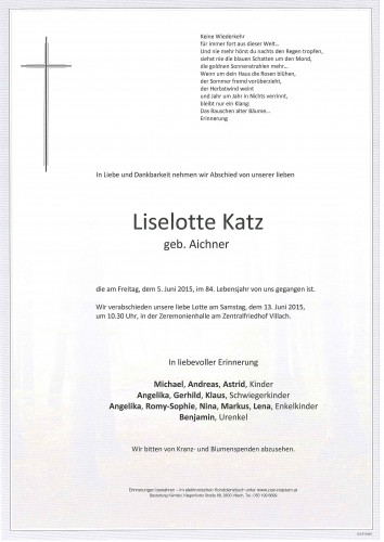 Liselotte Katz