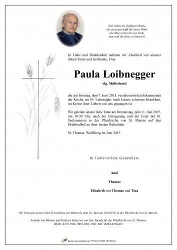 Paula  Loibnegger
