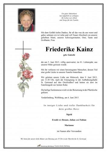 Friederike Kainz