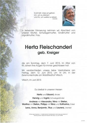 Herta Fleischanderl