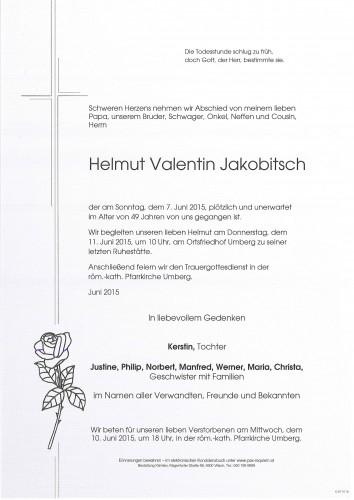 Helmut Valentin Jakobitsch