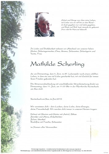 Mathilde Scherling