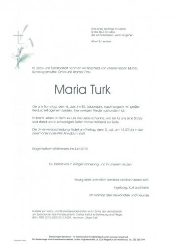 Maria Turk