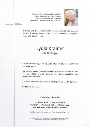 Lydia Krainer