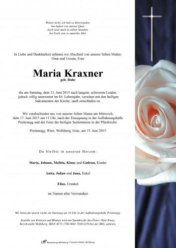 Maria Kraxner
