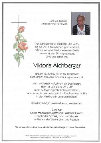 Viktoria Aichberger