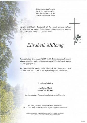 Elisabeth Millonig