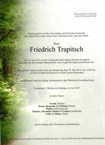 Friedrich Trapitsch
