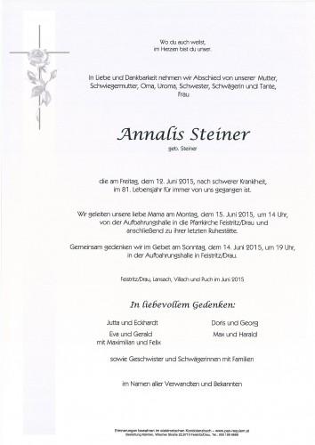 Annalis Steiner
