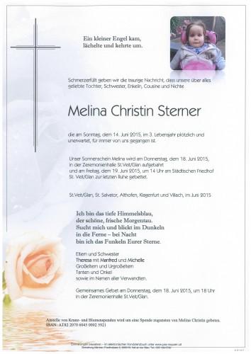Melina Christin Sterner