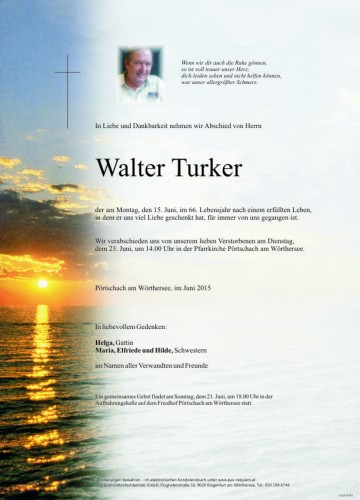 Walter Mathias Turker