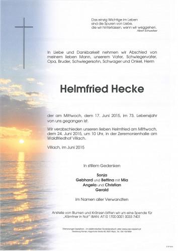 Helmfried Hecke