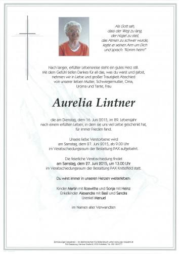 Aurelia Lintner