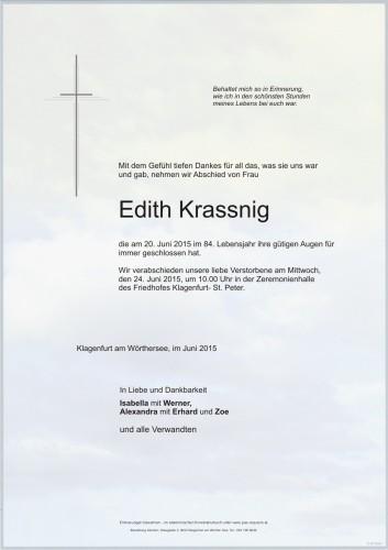 Edith Krassnig