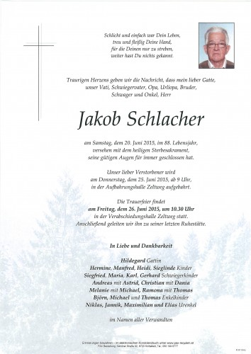 Jakob Schlacher