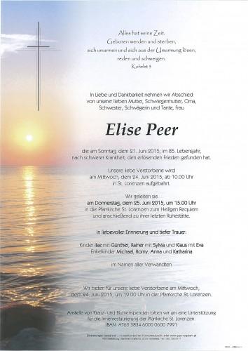 Elise Peer