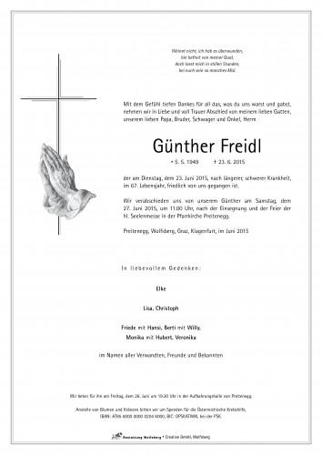 Günther Freidl