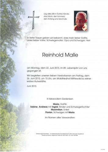 Reinhold Malle