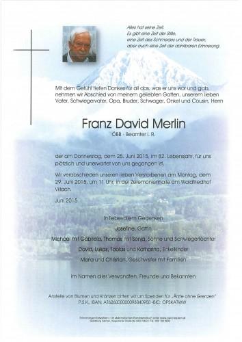 Franz David Merlin