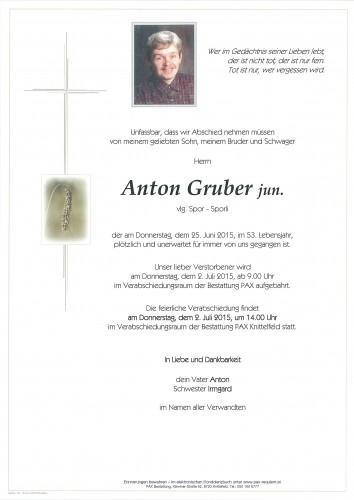Anton Gruber jun.