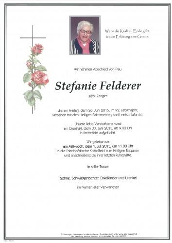 Stefanie Felderer