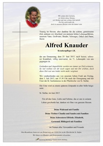 Alfred Knauder