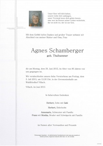 Agnes Schamberger