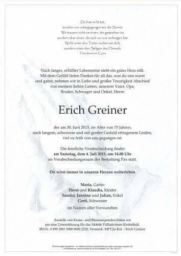 Erich Greiner