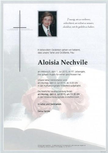 Aloisia Nechvile