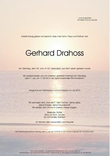 Gerhard Drahoss