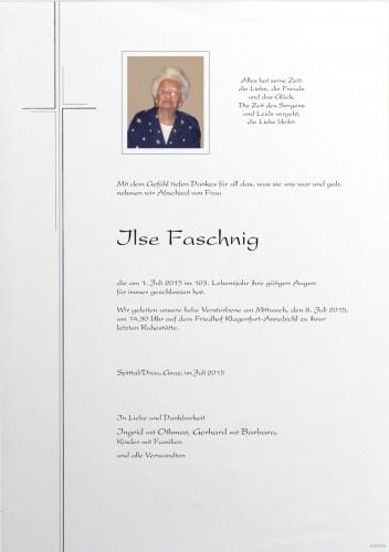 Ilse Faschnig