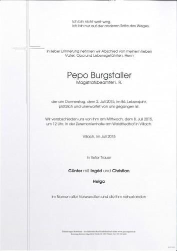 Pepo Burgstaller