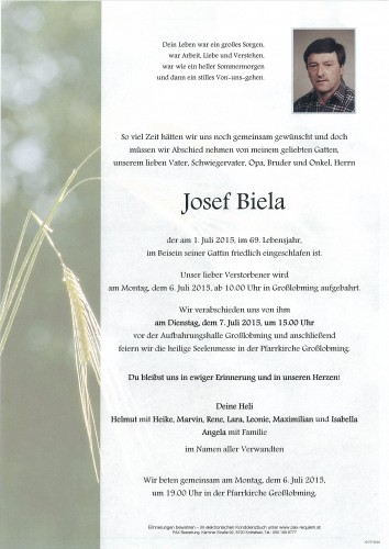 Josef Biela