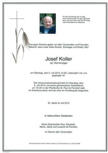 Josef Koller