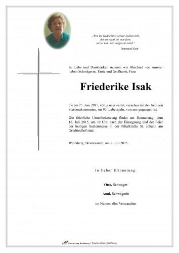 Friederike Isak