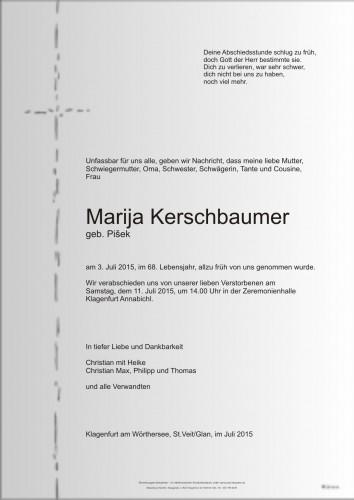Marija Kerschbaumer