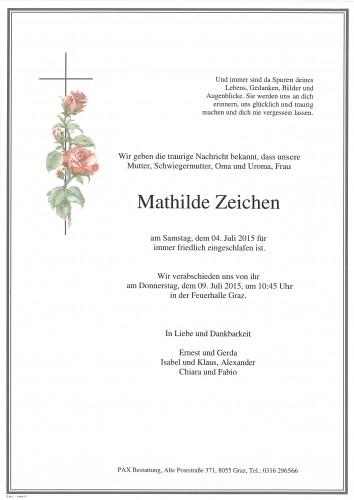 Mathilde Zeichen