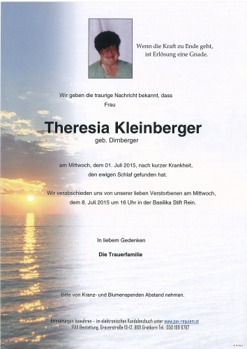 Theresia Kleinberger