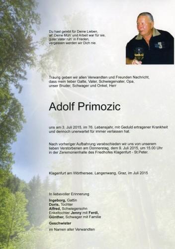 Adolf Primozic