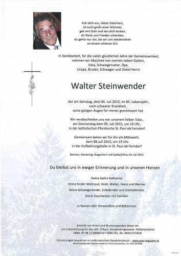 Walter Steinwender